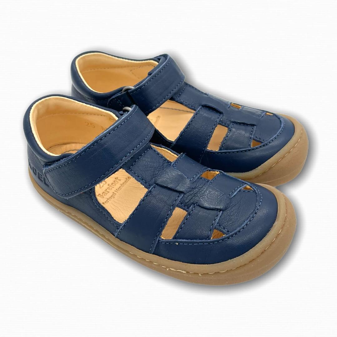 Koel Bare Sandalen Bio blau