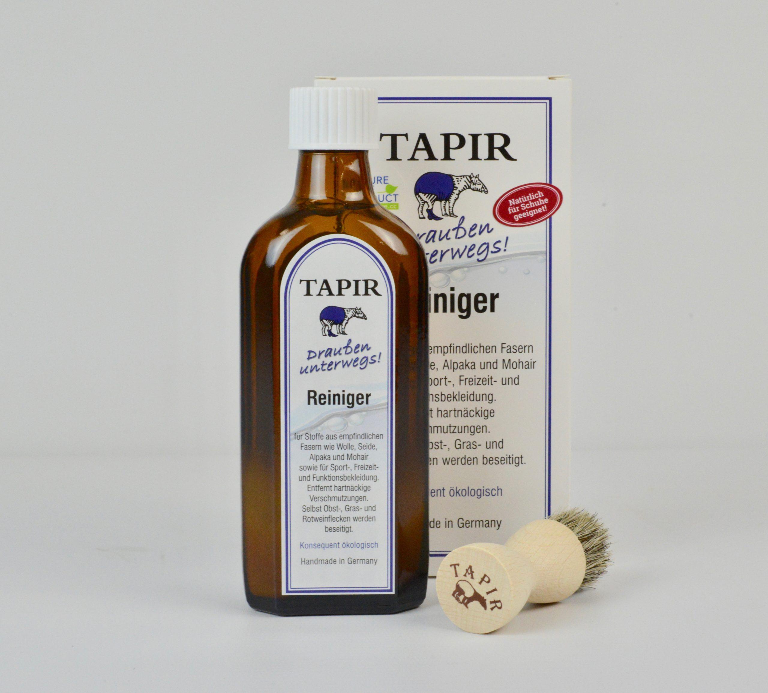 """Tapir Reiniger """"Draußen unterwegs"""""""